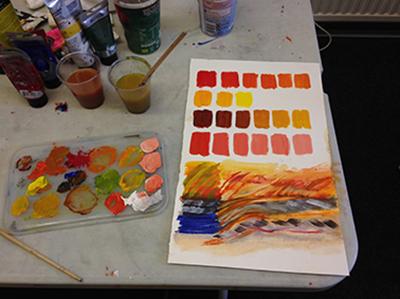 colours in paints