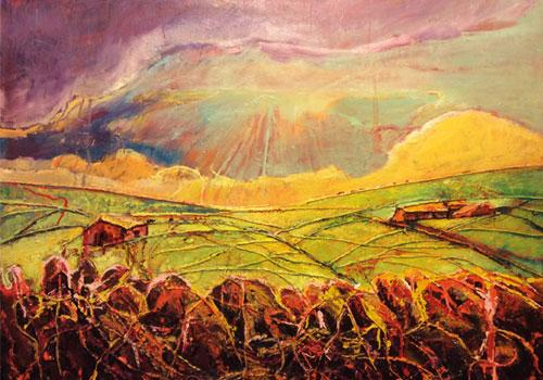 serene fields
